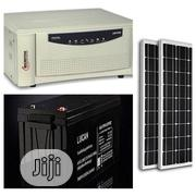 1KVA Inverter With One 200AH Battery And Two Solar Panels | Solar Energy for sale in Edo State, Oredo