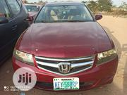 Honda Accord 2008 2.4 LX Automatic Red | Cars for sale in Abuja (FCT) State, Jabi