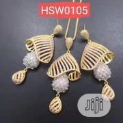 Zirconia Sets Pendant, Earring And Chain | Jewelry for sale in Lagos State, Alimosho