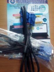 VGA Cable For Projetor Laptops ,Desktop , Monitor | Computer Monitors for sale in Lagos State, Lagos Mainland