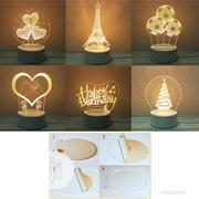 Cartoon Night Light 3D LED USB Lamp | Home Accessories for sale in Oyo State, Ibadan
