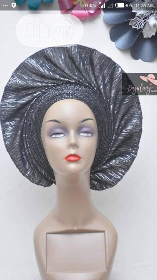 Auto Gele With Quality Fabric