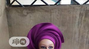 Auto Gele With Quality Aso Oke