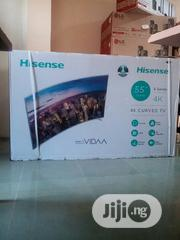 Hisense 55 Inches 4k UHD Curve Television | TV & DVD Equipment for sale in Abuja (FCT) State, Central Business District