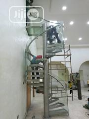 Glass Spiral Staircase With Stainles Steel | Building Materials for sale in Lagos State, Ikoyi
