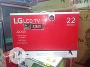 """New LG 22""""Inch LED Full HD TV With Bracket + Warranty 2 Years 