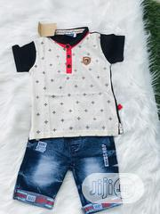 Blue Jeans and Polo Shirt for Boys   Children's Clothing for sale in Lagos State, Lagos Island
