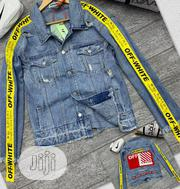 Off-white Jeans Jacket | Clothing for sale in Lagos State, Lagos Island