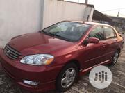 Toyota Corolla 2003 Sedan Automatic Red | Cars for sale in Ogun State, Abeokuta South
