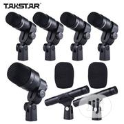 Talkstar 7pc Drum Microphone | Audio & Music Equipment for sale in Lagos State, Ikeja