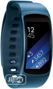 Samsung Gear Fit -2- Fitness Band Large - Blue   Smart Watches & Trackers for sale in Lagos State, Ikeja