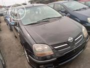 Nissan Almera 2002 Tino Black | Cars for sale in Lagos State, Apapa
