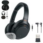 Sony Wh-1000xm3 Wireless Noise-canceling Over-ear | Headphones for sale in Lagos State, Shomolu