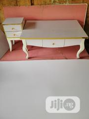 White And Gold Center Table And Stool | Furniture for sale in Abuja (FCT) State, Central Business District