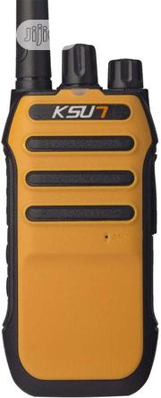 KSUN QMX30-GLK-O Two Way Handheld Walkie Talkie Radio | Safety Equipment for sale in Lagos State, Ikeja