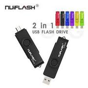 Nuiflash OTG USB Flash Pendrive 128GB For Computer/Android Phone | Accessories for Mobile Phones & Tablets for sale in Abuja (FCT) State, Wuse 2