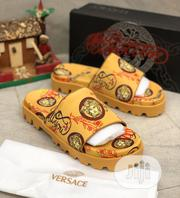 Versace Royal Pillar Palm Slippers New | Shoes for sale in Lagos State, Ojo