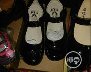 Girls Real Leather Black Shoe. Size 31-34 | Children's Shoes for sale in Lagos State, Lagos Mainland