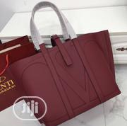 Valentino Female Bag Wine Colour | Bags for sale in Lagos State, Ikeja