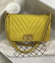Chanel Female Bag Yellow | Bags for sale in Lagos State, Ikeja