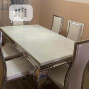 Clean Marble Top Dining Table | Furniture for sale in Lagos State, Yaba