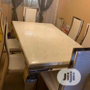 Sterling Marble Top Dining Table | Furniture for sale in Lagos State, Yaba