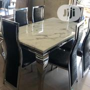 Steller Marble Top Dining Table | Furniture for sale in Lagos State, Yaba
