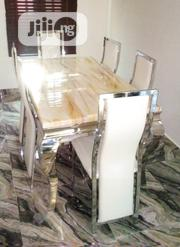 Quality Marble Dining Table by Six Seater | Furniture for sale in Oyo State, Ibadan North East