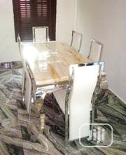 Dining Table With Marble Top. | Furniture for sale in Oyo State, Egbeda