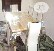 Dining Table With Marble Top | Furniture for sale in Oyo State, Ibadan