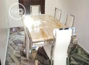Affordable Marble Dining Table by Six Seater | Furniture for sale in Lagos State, Oshodi-Isolo
