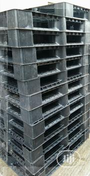 Black Solid Pallets Plastic | Building Materials for sale in Lagos State, Agege