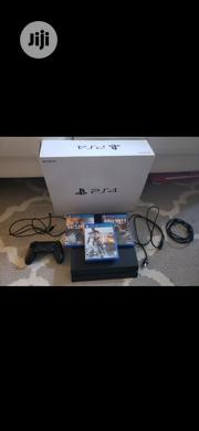 Ps4 Slim With 500gb It Comes With All Cables And Controller | Video Game Consoles for sale in Abuja (FCT) State, Nbora