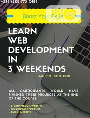 Web Development Training With 3 Projects | Classes & Courses for sale in Lagos State, Ikeja