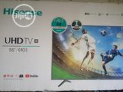 Hisense 55 Inch 4K Uhd Smart TV | TV & DVD Equipment for sale in Delta State, Uvwie