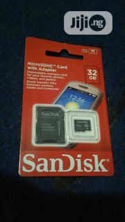 32GB Sandisk Memory Card | Accessories for Mobile Phones & Tablets for sale in Lagos State, Ikeja