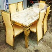6 Seater Exotic Royal Dining Table Gold | Furniture for sale in Lagos State, Ojo