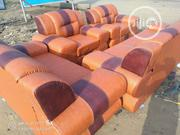 3seater,2seater And 2single Leather Sofa Chair | Furniture for sale in Lagos State, Mushin