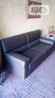 Three Sitter Leather Sofa | Furniture for sale in Lagos State, Ajah