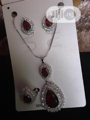 Chain, Pendant, Earrings And Ring | Jewelry for sale in Lagos State, Lagos Mainland