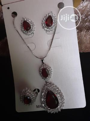 Chain, Pendant, Earrings And Ring