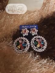 Cubic Zirconia Earrings Silver | Jewelry for sale in Lagos State, Lagos Mainland