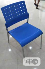 Quality Plastic Chair Blue   Furniture for sale in Lagos State, Ikeja