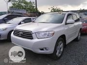 Toyota Highlander 2008 4x4 White | Cars for sale in Lagos State, Ajah