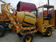 European Used Mobile 4 X 4 Self Loader Concrete Mixer Machine 4sale. | Electrical Equipments for sale in Lagos State, Apapa