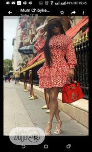 New Female Printed Short Flare Gowns | Clothing for sale in Lagos State, Amuwo-Odofin
