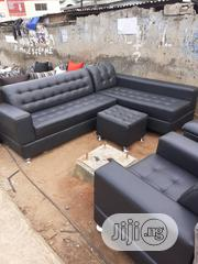 Luxury Lshaped Sofa With Ottoman | Furniture for sale in Lagos State, Alimosho