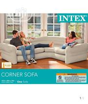 Intex Mobile Corner Air Chair With Electric Pump | Furniture for sale in Lagos State, Lekki Phase 1