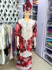 Senegalese Ankara Kaftan Gown With Embroidery. | Clothing for sale in Lagos State, Mushin