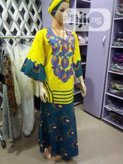 Senegalese Kaftan Dry Lace With Ankara. | Clothing for sale in Lagos State, Mushin
